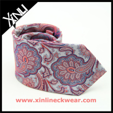 Perfect Neck Knot Chinese Cheap Jacquard Woven Paisley Used Silk Ties