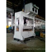 Konkurrenzfähiger Preis 1000 Tonnen H Rahmen 4 Säulen Tiefziehen Hydraulische Presse Maschine