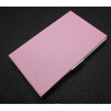 Металлический корпус визитной карточки, визитная карточка владельца