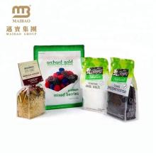 Производитель Гуанчжоу Высокого Качества Пользовательских Печати Ясно Слоистой Пластмассы Морской Соли И Черного Перца Мешки Еды Упаковывая