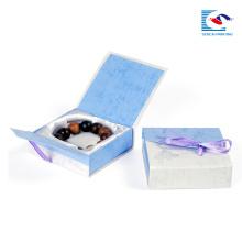 En gros imprimé petites boîtes à cadeaux de paperbox de bijoux en carton pour l'emballage de collier