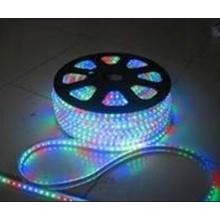 Saltar fluindo decorativo 5050 LED flexível tira luz lâmpada 220V