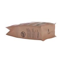 Kraft Coffee Box Bottom Packing Bag With Valve