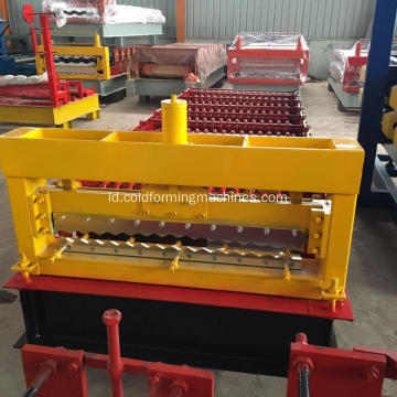 IBR Roof Sheet Corrugated Roll Forming Machine