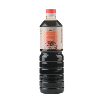 1000ml Glasflasche Superior Dark Soy Sauce