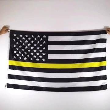USA Amerika Flagge mit Messing Ösen