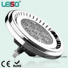 Taille de l'halogène Nichia LED 12.5W G53 Gradable AR111 (LS-S012-G53-ED-NWWD / NWD)