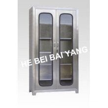 (C-1) Two Doors Stainless Steel Instrument Cabinet