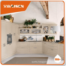 Stable performance unfinished solid wood kitchen cabinets