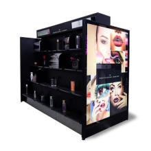 Acrylic Cosmetic Display Showcase Storage Cabinet Counter Stand