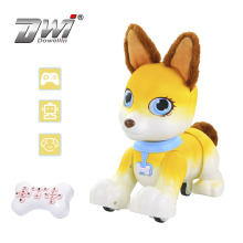 Wholesale remote control dog set intelligent  Corgi Puppy dog rc toy