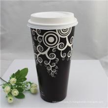 Tasse de papier d'OEM, tasse faite sur commande de papier de café