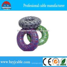 Alambre eléctrico de la cuerda con la conducta del cobre, cable de Rvs, alambre trenzado, cable eléctrico de doblez