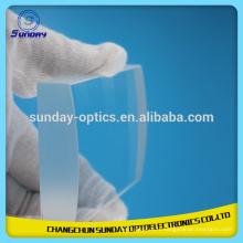 Lentille de fluorure de calcium optique