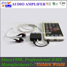 silicone amplifier headphone amplifier rechargeable battery amplifier