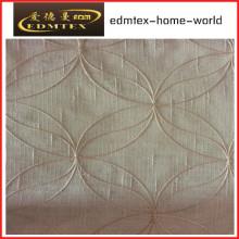 Moda bordada organza cortina tecido EDM2045