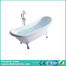 Classic Design Freestanding Acrylic Bathtub with Four Paw Feet (LT-10TW)