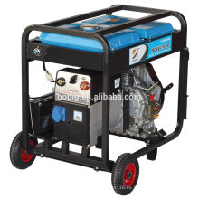 Generador de soldadura diesel 190A con tecnología italiana