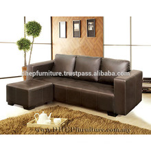 Sofá de L-forma, muebles de la sala de estar