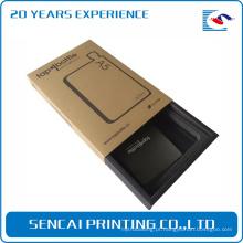 Caixa de papel de empacotamento do cartão da gaveta do telefone móvel do telefone do produto eletrônico feito sob encomenda