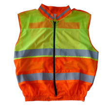 Высокая видимость безопасности Светоотражающий одежда с длинным рукавом (DFJ040)