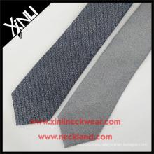 Corbata mezclada de las lanas de seda del gris del invierno 2016 para las corbatas de las lanas de los hombres