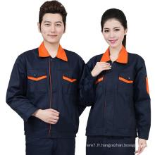 2017 Work Jacket Travail Industriel Uniforme Vêtements de Travail Casual