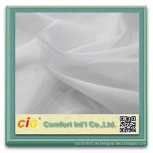 Moda nuevo diseño útil ningbo fabricante suave gasa poliester tela de alta calidad