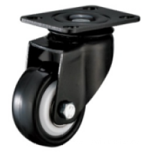 3 Zoll Plate Swivel PU Material Small Caster