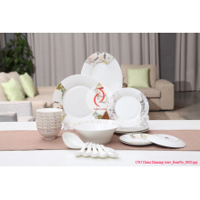 Luxury 28 PCS Porcelain Tableware