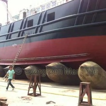 Бабло и сухой Док-морской подушки безопасности для поплавка и мели