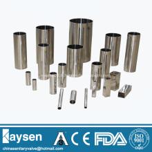 SS304 Tubes sanitaires sans soudure en acier inoxydable