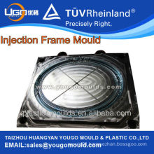 New design plastic injection decorative wall photo frame moulding moulds