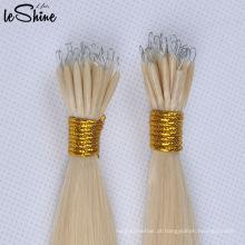 Novo anel de extensão de queratina de cabelo Nano / extensão de cabelo de ponta de vara de plástico