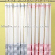 Waterproof fabric shower curtain