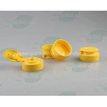 Kunststoff-Flip-Top Silikon-Ventildeckel für quetschende Honig-Flasche (PPC-PSVC-003)