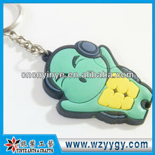 Cartoon Tortoise Key ring, OEM soft Pvc Key chain