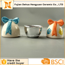 Керамические пасхальные яйца Форма небольшой Candy Jar для пасхального подарка