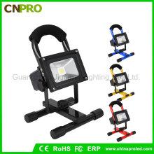 Tragbare Ultra Bright Cordless Spot Arbeit Licht Lampe 10W wiederaufladbare LED Scheinwerfer