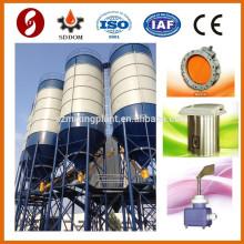 Bolted tipo 100 tonelada silo de armazenamento fabricação da China, silo de armazenamento de cimento