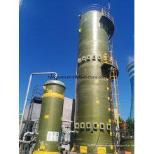 Torre da fibra de vidro da dessulfuração do gás de conduto