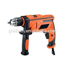 FFU 13mm 710W de potencia de acero de acero de perforación de perforación de perforación de perforación de perforación de agujero de acero portátil de mano de mano recta de taladros eléctricos