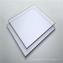 Feuille de polycarbonate solide incassable pour porte de salle de bain