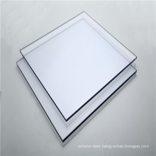 Unbreakable solid polycarbonate sheet for bathroom door