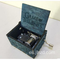 Caja de música Game Of Thrones de madera manivela
