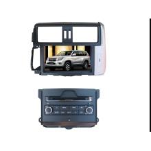 Ajuste de 2DIN coches reproductor de DVD para Toyota Prado dos piezas con sistema de navegación de GPS de TV estéreo de Radio Bluetooth
