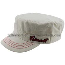 Le chapeau militaire de l'armée militaire de toile de coton lavé (TMM8154-1)