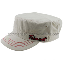 Popular Washed Cotton Canvas Army Military Hat (TMM8154-1)