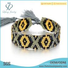 Popular bohemian bracelets,seed beads jewelry bracelets for women