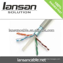LANSAN cabo de alta velocidade de 100pts / ftp cat6 lan do 100ft Passo de Fluke 100% Aprovação de UL ANATEL